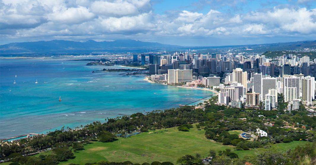 ハワイの景色写真
