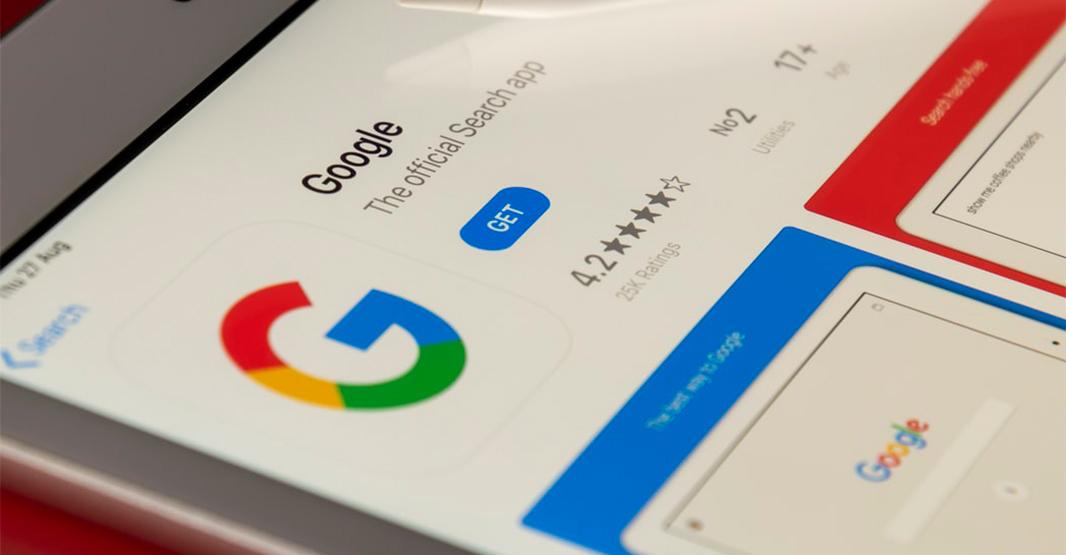 googleアプリの写真