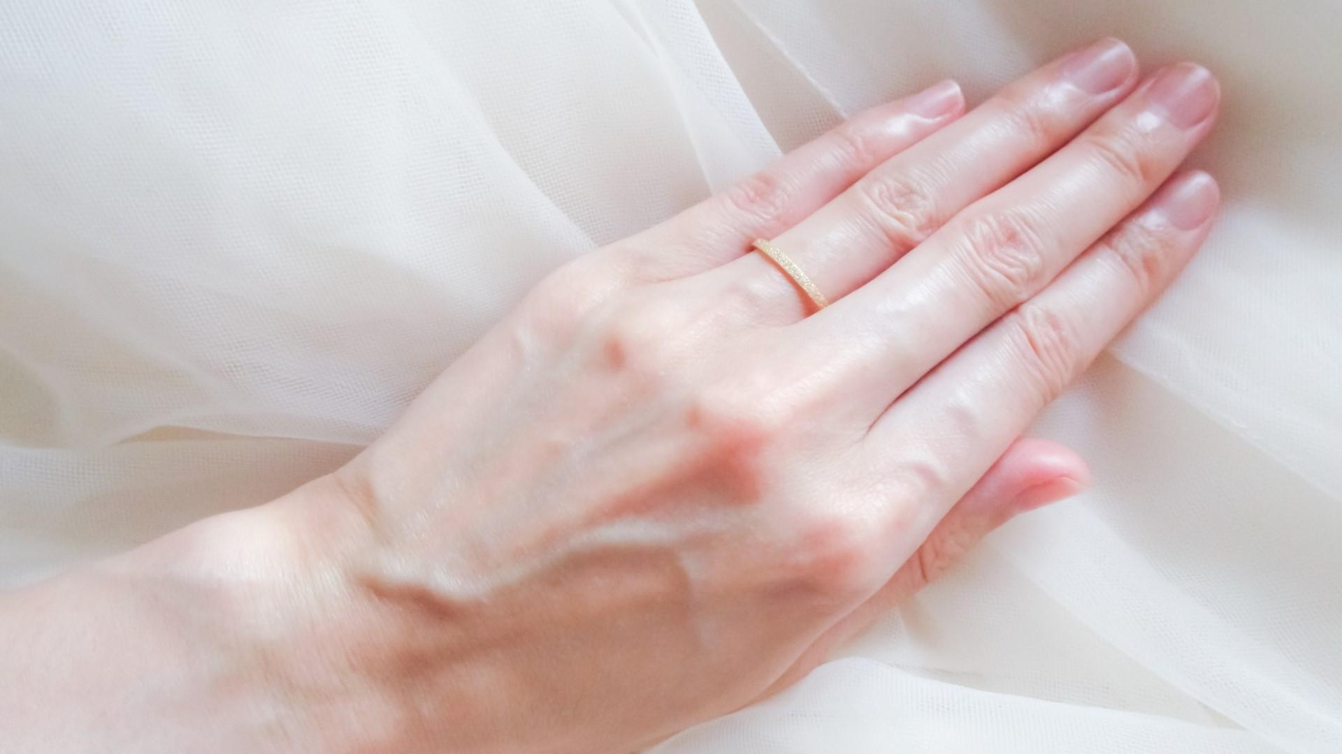 アルコール 手洗い 指輪