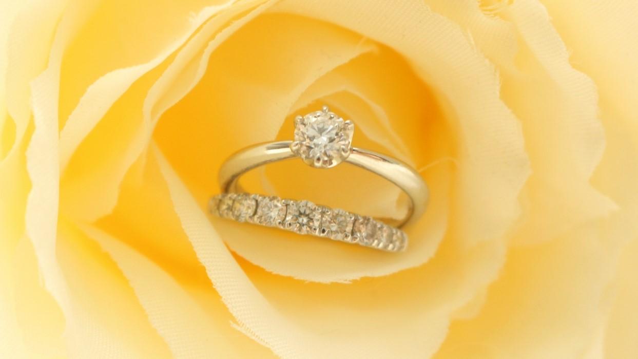 アルコール ダイヤモンド 指輪