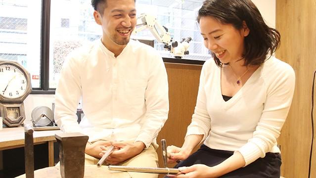 東京指輪工房 結婚指輪 手作り